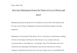 Romeo and Juliet Essays   GradeSaver