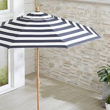 9 round sunbrella cabana stripe navy