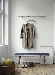 Danish Coat Rack coat rack with hangers 46