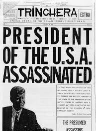 annals of intelligence the first jfk conspiracy on 23 1963 the leaders of the n student directorate dre published a special four page edition of their newspaper