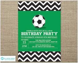 Soccer Party Invitations Soccer Party Invitations Soccer Invitation Sports Birthday Soccer