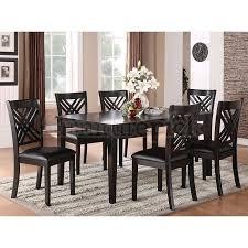 7 piece black dining room set. Fabulous Black Dining Room Tables Brooklyn 7 Piece Ro Set I