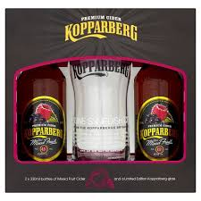 koppaberg mixed fruit 2x330ml and gl gift set groceries tesco groceries