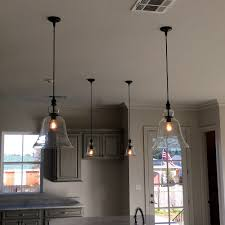 Clear Glass Pendant Lights For Kitchen Island Rustic Glass Pendant Lighting Soul Speak Designs