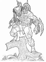 Small Picture Predator coloring pages Free Printable Predator coloring pages