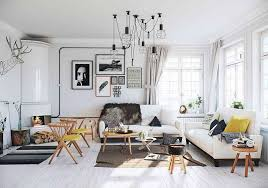 View in gallery Scandinavian apartment design in white