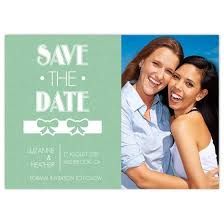 Lesbian save the date