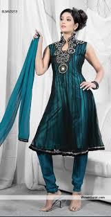 green black mesmerizing:  mesmerizing black net churidar suit slmv