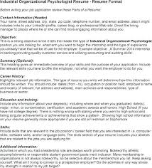 Psychology Resume Sample Resume Examples A Psychology Resume Samples