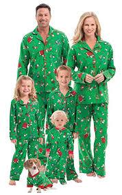Pajamagram Family Christmas Pajamas Soft Christmas Pajamas For Family Green