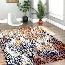 orange and blue area rug blue area rug bold modern rugs orange blue contemporary area rug