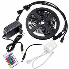 cheap mood lighting. 4 X 50cm 5050 RGB LED Strip Light Color Changing Mood Lighting TV Background Fish Tank Cheap L