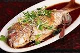 baked snapper chinoise