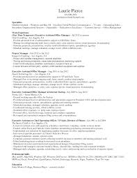 Formalbeauteous Resume Examples Executive Assistant