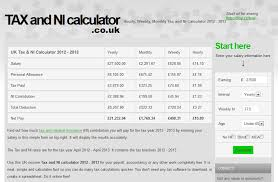 Monthly Paycheck Calculator Hourly Weekly And Monthly Tax And Ni Calculator 2015 2016