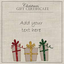 Free Christmas Gift Certificate Templates Free Christmas Gift Certificate Templates Best Template Idea 19