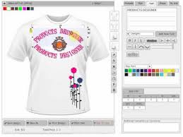 T Shirt Editing Software Online Custom T Shirt Design Software Scripts And Application Tool By Productsdesigner Com