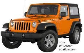 dozer jeep color