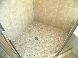 tile shower floor options other than installation kit base drain pan vs for bathrooms charming on shower floor options other than tile