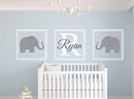 personalised name wall stickers cute elephant wall decal sticker kids bedrooms for baby shower wall decor on personalised wall art for baby with personalised name wall stickers cute elephant wall decal sticker