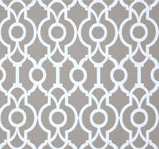 Small Picture Contemporary Grey Fabric by the Yard Designer Geometric Drapery