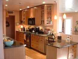 galley kitchen open floor plan remodel