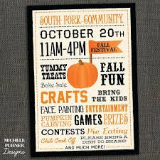 Fall Festival Flyer Free Template Whitewash Wood Harvest Festival Fall Fest Munity Event Free