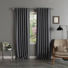 blackout curtains pair. Simple Curtains Shop Aurora Home Thermal Rod Pocket 96inch Blackout Curtain Panel Pair   52 X 96 On Sale Free Shipping Today Overstockcom 3822089 Curtains O