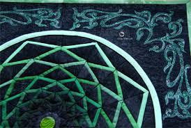 Dream Catcher Quilt Pattern Shape Moth Dreamcatcher mini quilt finished 9