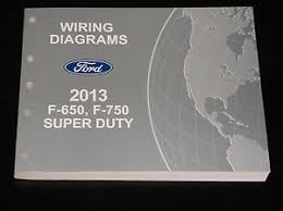 ford oem service manual 2013 ford superduty f650 f750 wiring image is loading ford oem service manual 2013 ford superduty f650