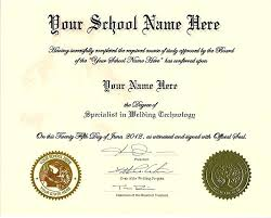 High School Diploma Template With Seal Free Download Certificate