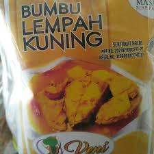 Rasa asam biasanya diperoleh dari nanas, daun kedondong, belimbing wuluh atau terong asam. Jual Bumbu Lempah Kuning Cap Veni Di Lapak Yanti Natasha Toko Kp Katak Bukalapak