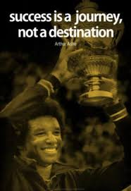 Arthur Ashe Success Quote iNspire Poster Poster at AllPosters.com ... via Relatably.com