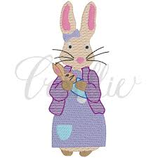 Peter Rabbit Design Mom Peter Rabbit Embroidery Design Embroidery Designs