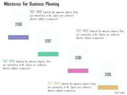 Timeline On Ppt Free Timeline Diagrams Company Milestone Template Ppt Road