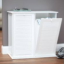 laundry furniture. Linen Cabinet With Tilt Out Hamper | Laundry Furniture Hampton Bay R