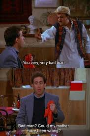 Seinfeld Quotes Amazing Seinfeld Quote Babu Thinks Jerry Is A Bad Man 'The Cafe