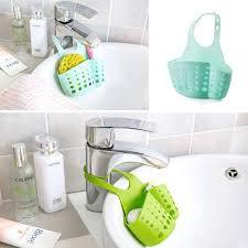 Kitchen Portable Hanging Drain Bag Bathroom Gadgets Sink Holder ...
