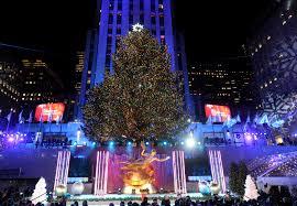 Rockefeller Tree Lighting 2019 The 2019 Rockefeller Christmas Tree Was Cut Down Cnn Travel
