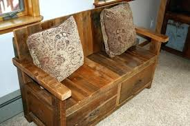 rustic furniture edmonton. Bench With Back Barn Wood Furniture Rustic And Entryway Storage Stores Edmonton E