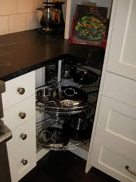 Kitchen Lazy Susan Cabinet Corner Cabinets Dead Corners What Did U Do