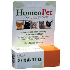 HomeoPet Feline Skin & Itch Natural Cat Coat Enhancer | Petco