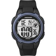 mens timex indiglo watch timex t5k820 men s marathon resin watch indiglo alarm stopwatch t5k820m6