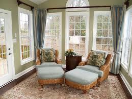 comfortable sunroom furniture. comfortable wicker chairs in beautiful light green sunroom furniture e