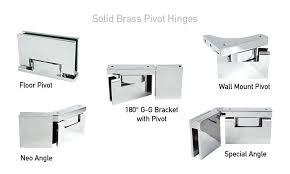 amazing shower glass door replacement brilliant shower door and enclosure hardware throughout shower door pivot hinge
