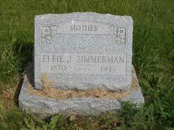 Effie Jane Hesser Zimmerman (1870-1947) - Find A Grave Memorial