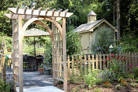 Small Picture How To Build A Garden Arbour Beautiful How To Build A Rustic U