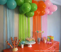 Small Picture Decor Fresh How To Make Birthday Party Decorations Home Design