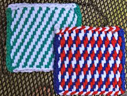 Potholder Loom Patterns Delectable Today's Creations Pot Holders On A Loom Taking Them To The Next Level