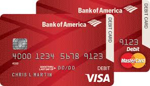 Visa Card Designs Bank Of America Personalized Debit Card